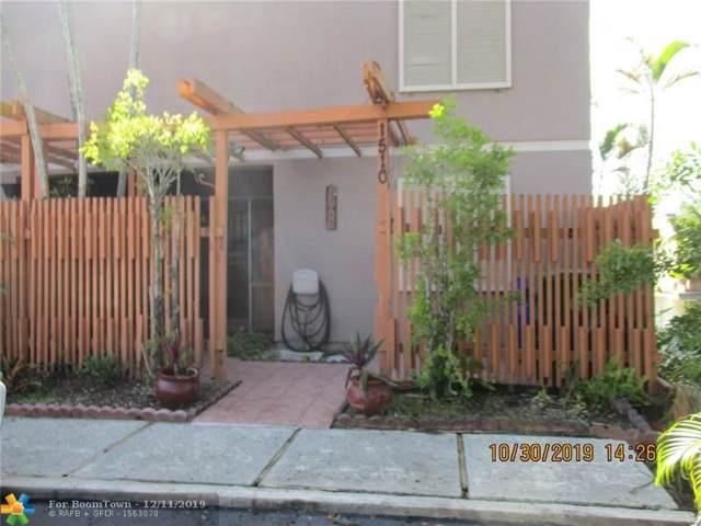 1510 NW 113th Ter #1, Pembroke Pines, FL 33026 (MLS #H10764500) :: Berkshire Hathaway HomeServices EWM Realty