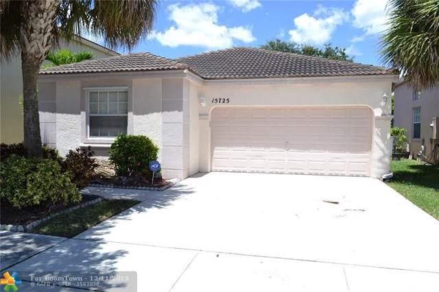 15725 NW 16th Ct, Pembroke Pines, FL 33028 (MLS #H10766938) :: Berkshire Hathaway HomeServices EWM Realty