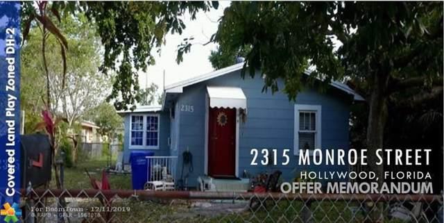 2315 Monroe St, Hollywood, FL 33020 (MLS #H10780467) :: Lucido Global