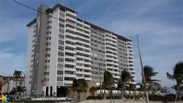 3111 N Ocean Dr #312, Hollywood, FL 33019 (MLS #H908307) :: Berkshire Hathaway HomeServices EWM Realty