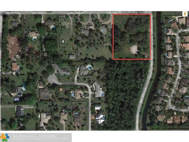 4800 NW 76 Place, Unincorporated Broward County, FL 33073 (MLS #F10022316) :: Green Realty Properties