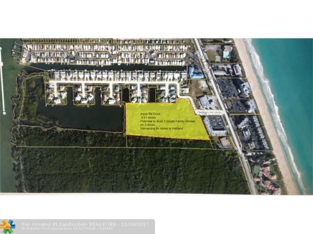 10 E Aqua Ra Drive, Jensen Beach, FL 34957 (MLS #F10057586) :: Green Realty Properties