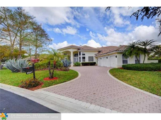 9647 NW 67th Pl, Parkland, FL 33076 (MLS #F10057723) :: Green Realty Properties