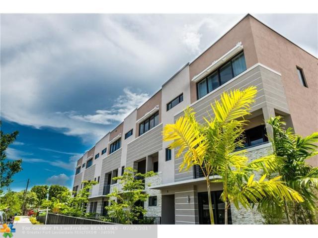 825 NE 17th Ter #3, Fort Lauderdale, FL 33304 (MLS #F10077970) :: Green Realty Properties