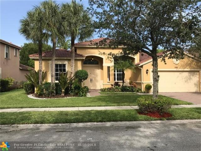 3847 W Gardenia Ave, Weston, FL 33332 (MLS #F10078319) :: Green Realty Properties