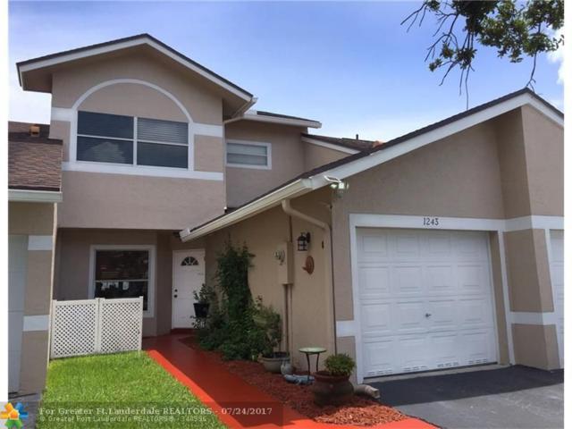 1243 NW 51st Way #1243, Deerfield Beach, FL 33442 (MLS #F10078351) :: Castelli Real Estate Services