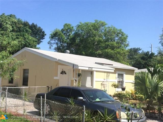 836 NW 17th Ave, Fort Lauderdale, FL 33311 (MLS #F10080393) :: Green Realty Properties