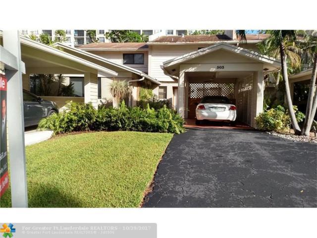 503 NE 19th St, Wilton Manors, FL 33305 (MLS #F10087403) :: Green Realty Properties