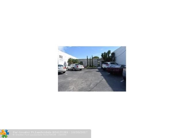 552 S Dixie Hwy, Pompano Beach, FL 33060 (MLS #F10087931) :: Green Realty Properties