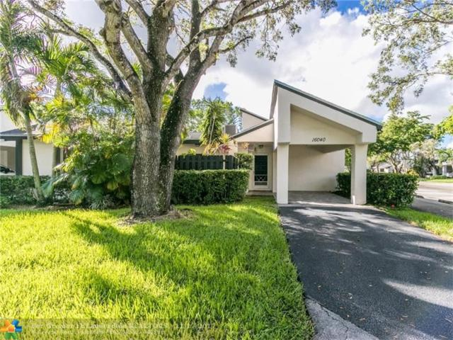 16040 Fairway Ter #114, Weston, FL 33326 (MLS #F10091608) :: Castelli Real Estate Services