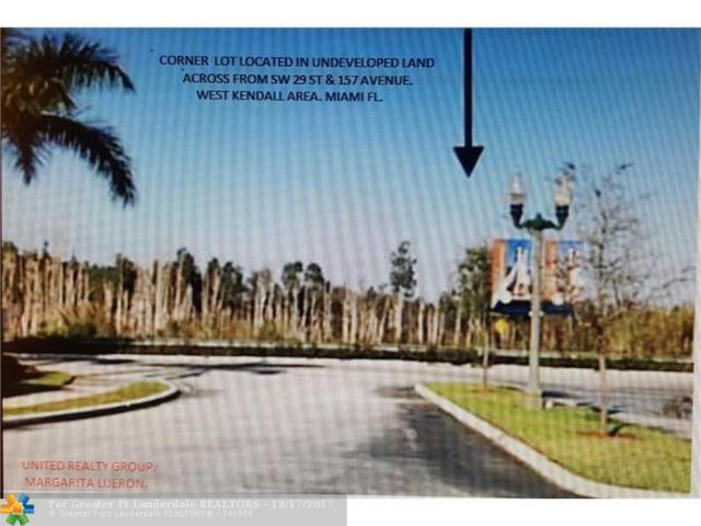 0 SW 159 Ct., Miami, FL 33185 (MLS #F10097636) :: Green Realty Properties