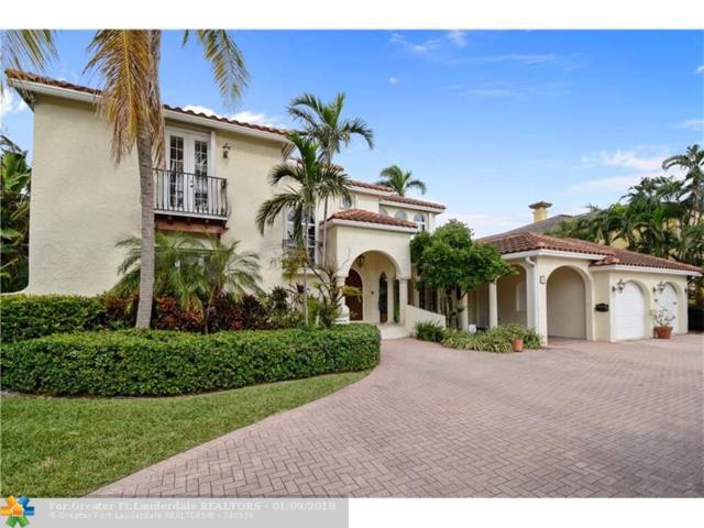 11 Pelican Dr, Fort Lauderdale, FL 33301 (MLS #F10099234) :: Green Realty Properties