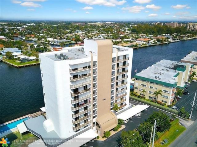 701 N Riverside Dr #401, Pompano Beach, FL 33062 (MLS #F10101786) :: Green Realty Properties