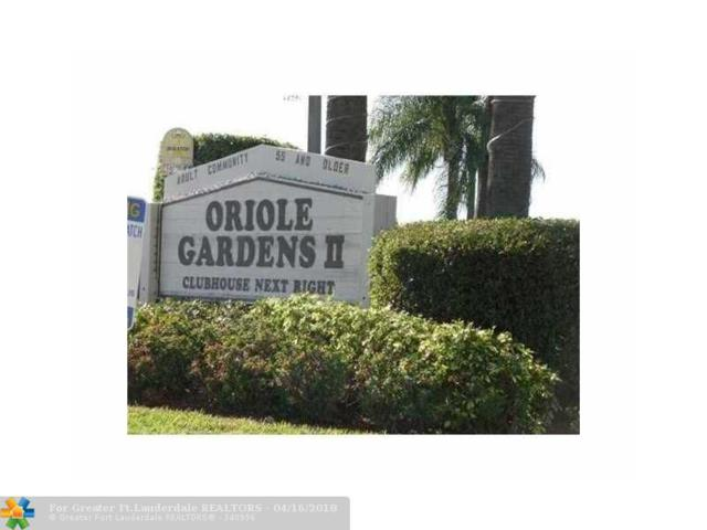 7705 NW 5th Ct #204, Margate, FL 33063 (MLS #F10102005) :: Green Realty Properties