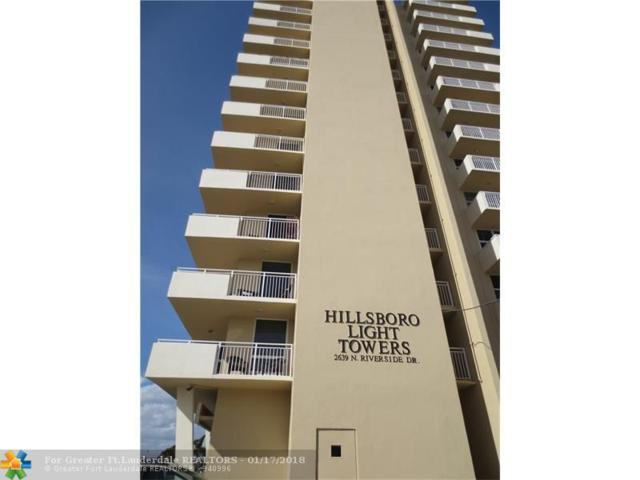 2639 N Riverside Dr #1003, Pompano Beach, FL 33062 (MLS #F10103062) :: Green Realty Properties