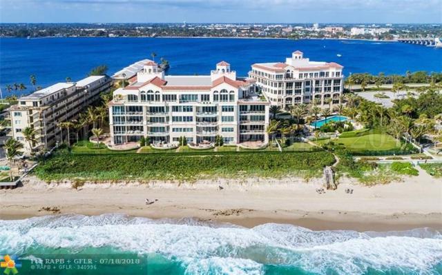 3000 S Ocean Blvd #406, Palm Beach, FL 33480 (MLS #F10103382) :: Green Realty Properties