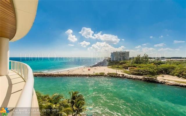 1000 S Ocean Blvd #501, Boca Raton, FL 33432 (MLS #F10107795) :: Green Realty Properties