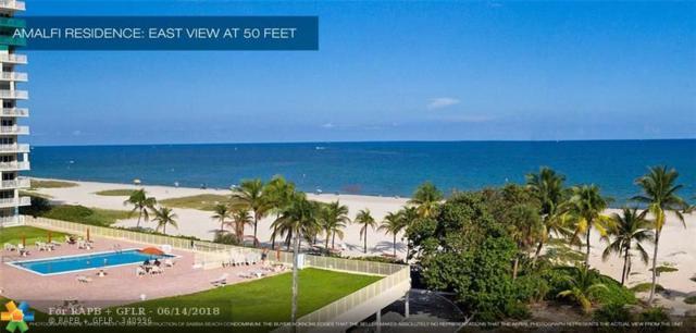 730 N Ocean #1501, Pompano Beach, FL 33062 (MLS #F10108043) :: Green Realty Properties