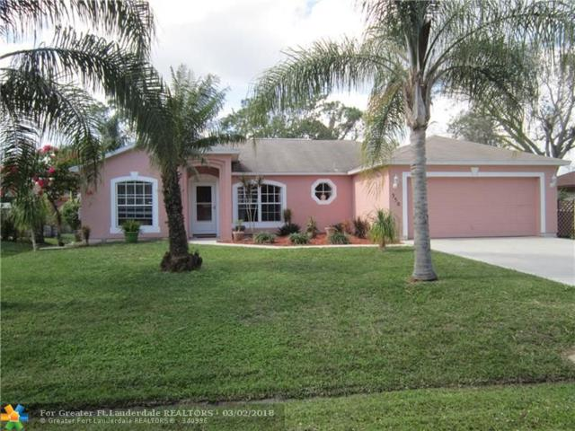 350 NW Curry, Port Saint Lucie, FL 34983 (MLS #F10109413) :: Green Realty Properties