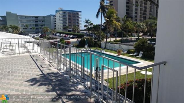 1751 S Ocean Blvd #206, Lauderdale By The Sea, FL 33062 (MLS #F10112312) :: Green Realty Properties