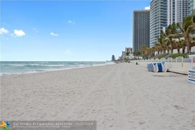 3801 S Ocean Dr 14T, Hollywood, FL 33019 (MLS #F10112491) :: Green Realty Properties