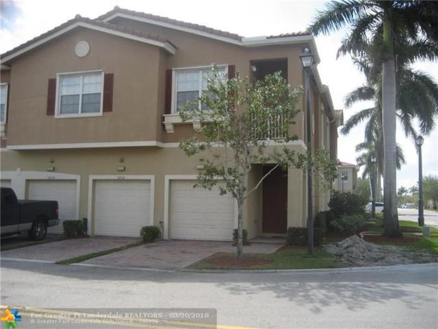 5850 Hampton Hills Blvd #5850, Tamarac, FL 33321 (MLS #F10114166) :: Green Realty Properties