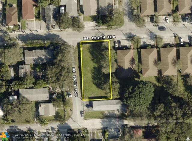 2500 NE 184th Ter, North Miami Beach, FL 33160 (MLS #F10114186) :: Green Realty Properties