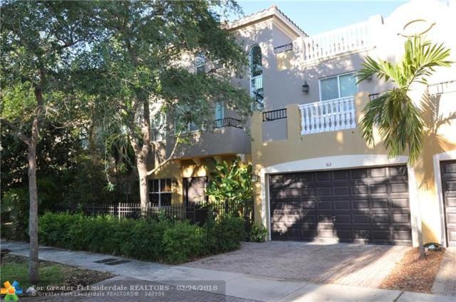 613 NE 11th Ave #7, Fort Lauderdale, FL 33304 (MLS #F10114525) :: Green Realty Properties