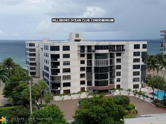 1155 Hillsboro Mile #303, Hillsboro Beach, FL 33062 (MLS #F10114635) :: Green Realty Properties