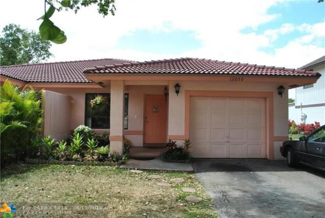 12050 NW 33rd St, Coral Springs, FL 33065 (MLS #F10115543) :: Green Realty Properties