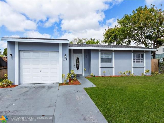 173 SW 72ND TER, Margate, FL 33068 (MLS #F10115886) :: Green Realty Properties