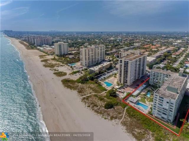 1850 S Ocean Blvd #206, Pompano Beach, FL 33062 (MLS #F10115948) :: Green Realty Properties