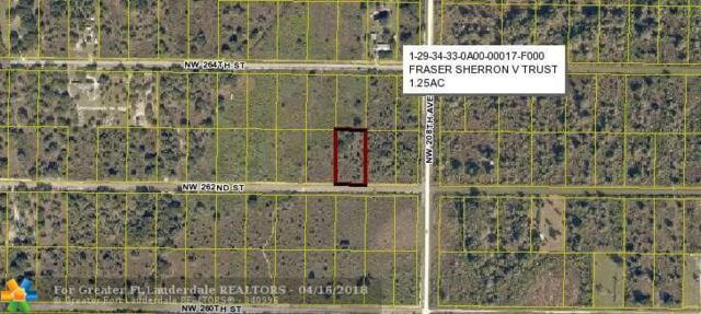 20911 262nd Steet, Other City Value - Out Of Area, FL 34972 (MLS #F10116001) :: Green Realty Properties
