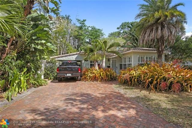 609 SW 18th St, Fort Lauderdale, FL 33315 (MLS #F10116171) :: Green Realty Properties