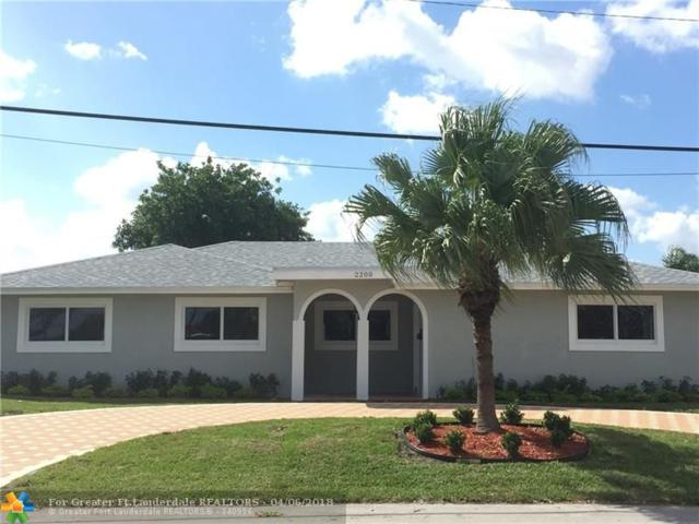 2200 SE 9th St, Pompano Beach, FL 33062 (MLS #F10116739) :: Green Realty Properties