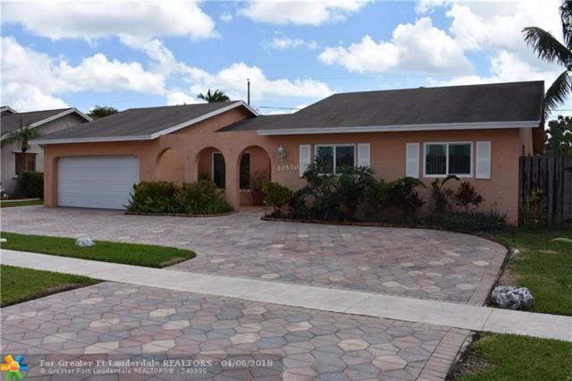 10530 Sunset Strip, Sunrise, FL 33322 (MLS #F10116783) :: Green Realty Properties