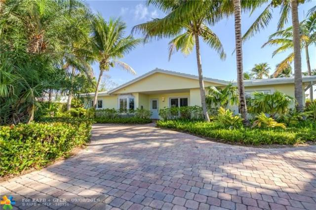 5260 NE 28th Ave, Fort Lauderdale, FL 33308 (MLS #F10116800) :: Green Realty Properties