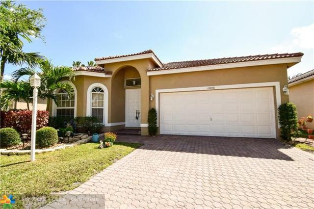 11606 NW 48th St, Coral Springs, FL 33076 (MLS #F10117032) :: Green Realty Properties