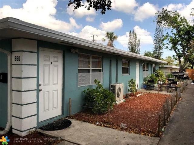 860 NW 6th Ave, Pompano Beach, FL 33060 (MLS #F10119766) :: Green Realty Properties