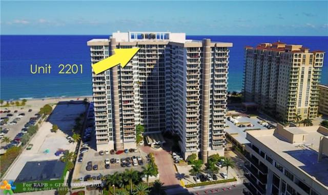 2030 S Ocean Dr #2201, Hallandale, FL 33009 (MLS #F10120265) :: The O'Flaherty Team
