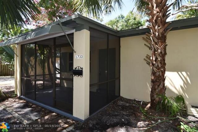 1733 SW 13th St, Fort Lauderdale, FL 33312 (MLS #F10120477) :: Green Realty Properties