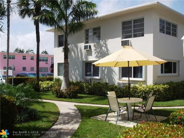 624 Antioch Av #20, Fort Lauderdale, FL 33304 (MLS #F10120800) :: Green Realty Properties