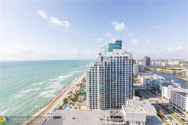 3101 S Ocean Dr #3007, Hollywood, FL 33019 (MLS #F10121674) :: Green Realty Properties