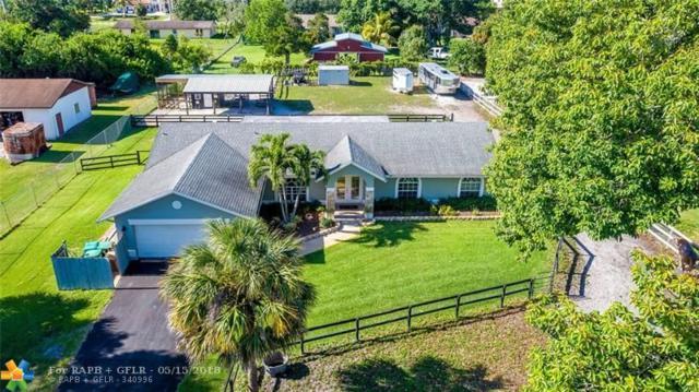 14575 SW 26th St, Davie, FL 33325 (MLS #F10122595) :: Green Realty Properties