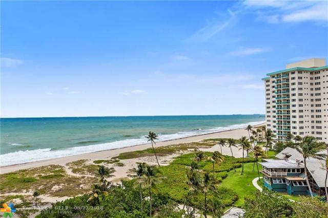 2000 S Ocean Blvd 7F, Pompano Beach, FL 33062 (MLS #F10123334) :: Green Realty Properties