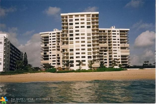 1800 S Ocean Blvd #602, Lauderdale By The Sea, FL 33062 (MLS #F10123659) :: Green Realty Properties