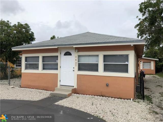 1437 N Andrews Ave, Fort Lauderdale, FL 33311 (MLS #F10124542) :: Green Realty Properties