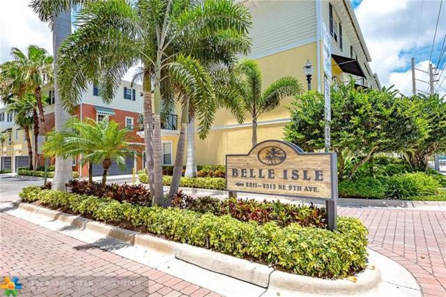 2281 NE 9th Ave #2281, Wilton Manors, FL 33305 (MLS #F10124545) :: Green Realty Properties