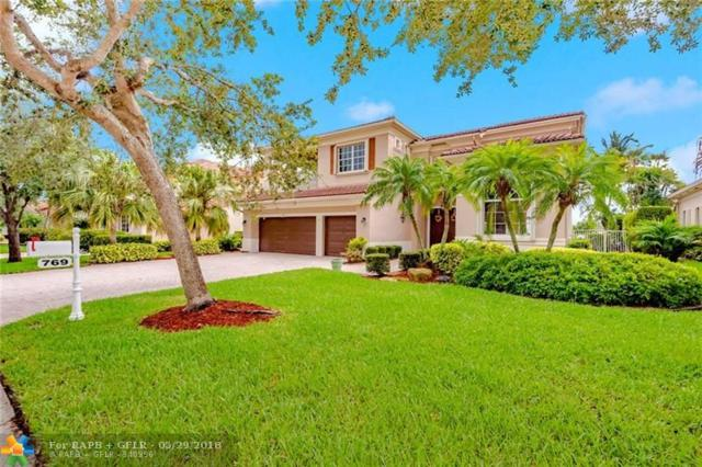 769 NW 123rd Dr, Coral Springs, FL 33071 (MLS #F10124578) :: Green Realty Properties