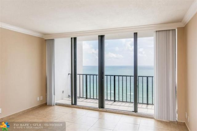 2401 S Ocean Dr #2102, Hollywood, FL 33019 (MLS #F10124632) :: Green Realty Properties